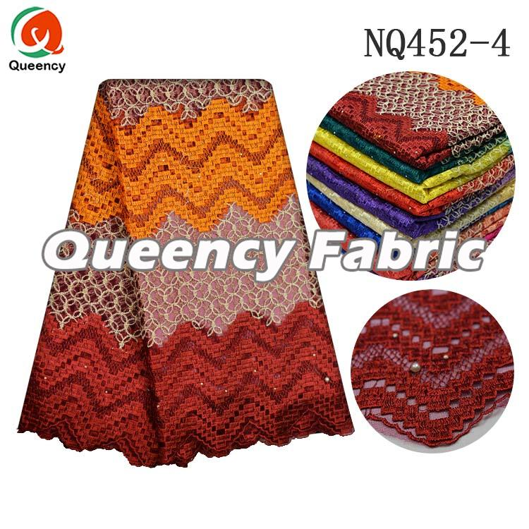 Nigeria French Lace In Wine