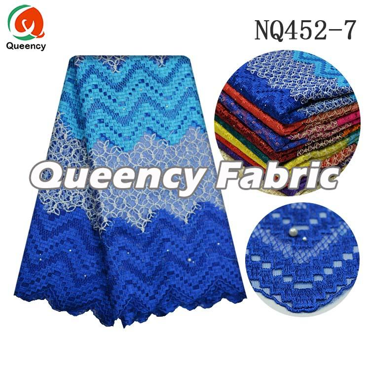 Nigeria Lace In Royal Blue