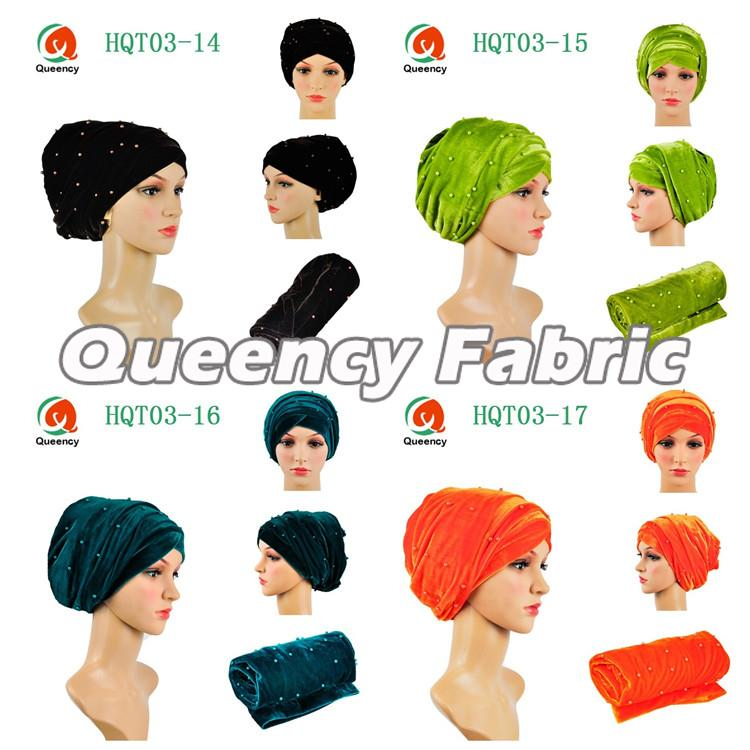 Nigeria Beaded Headband Turbans