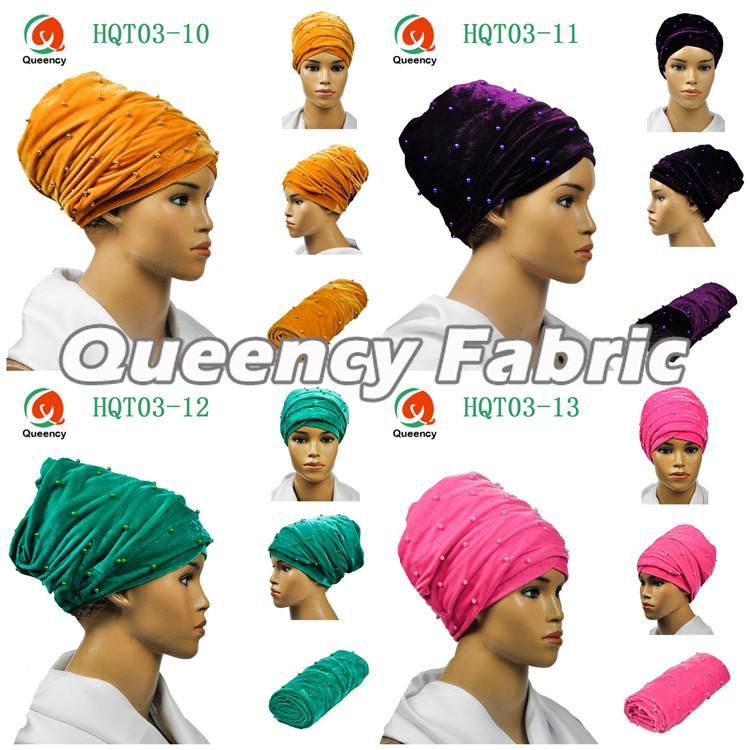 Wholesale Turbans Headband Beaded