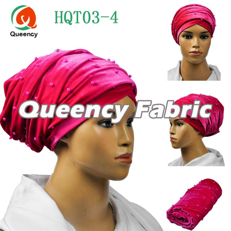 Fushia Indian Headtie Turban