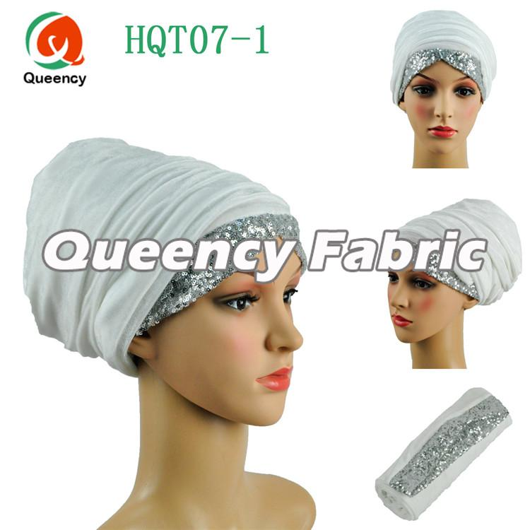 White Head Scarf Muslim Turbans