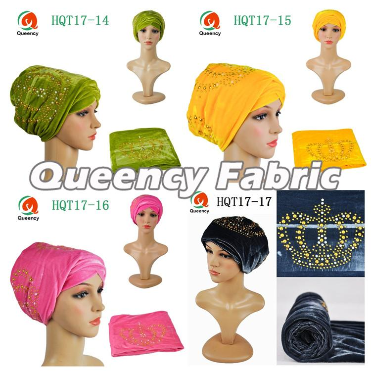 Stones Turban Hat For Women