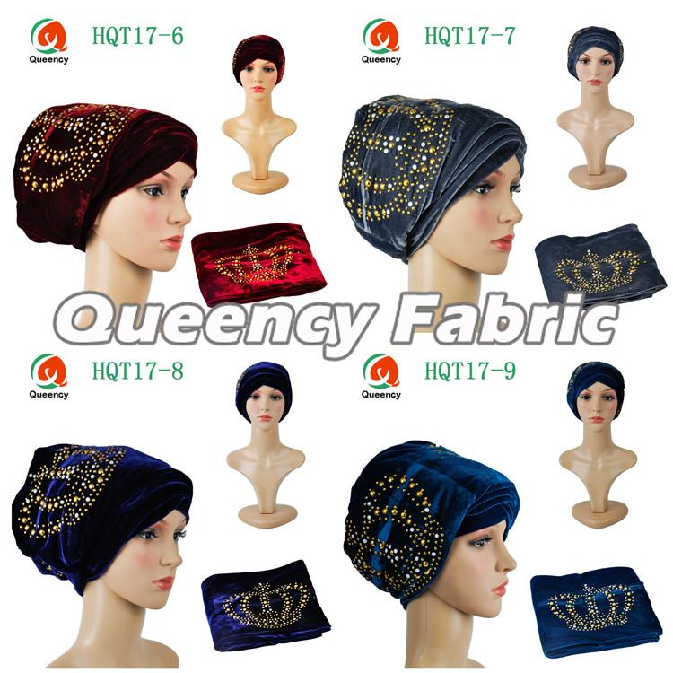 Fashion Islamic Stones Hat Turbans