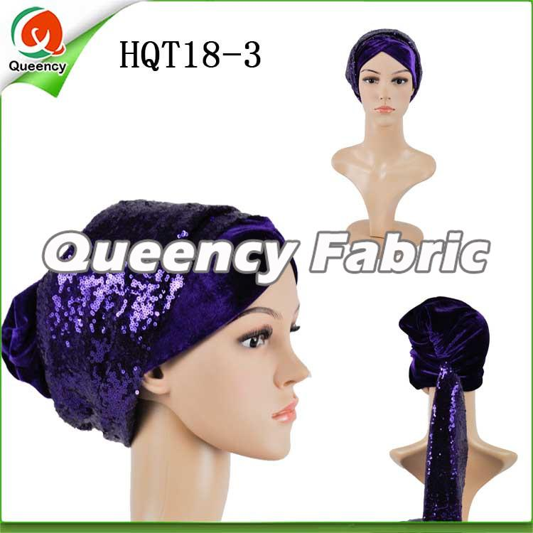 Purple Turbans Muslin Headtie