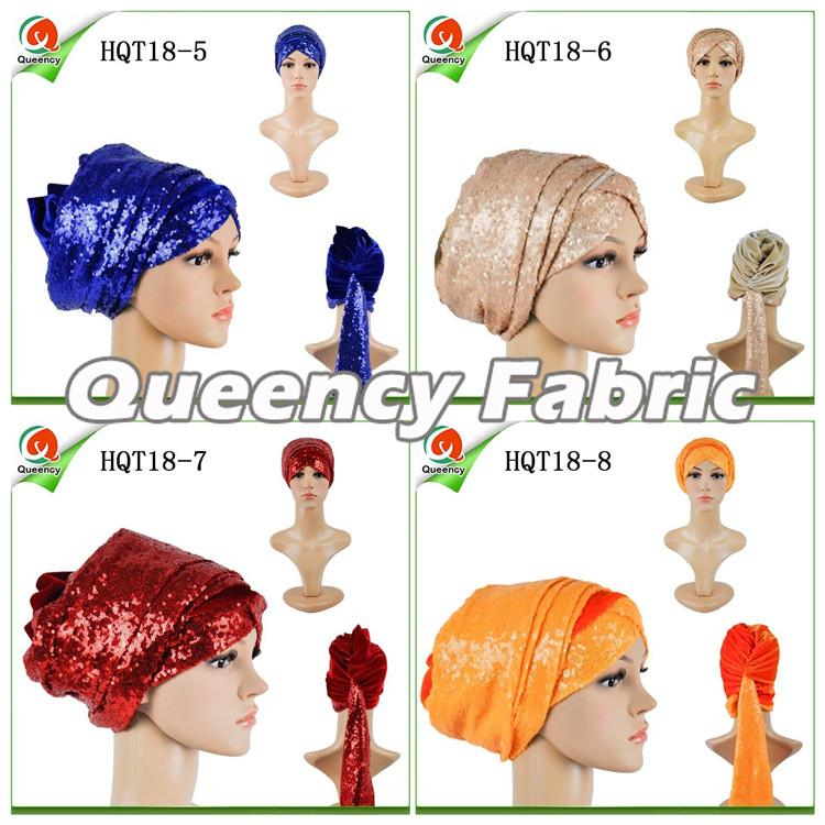 Women Headband Muslin Turbans