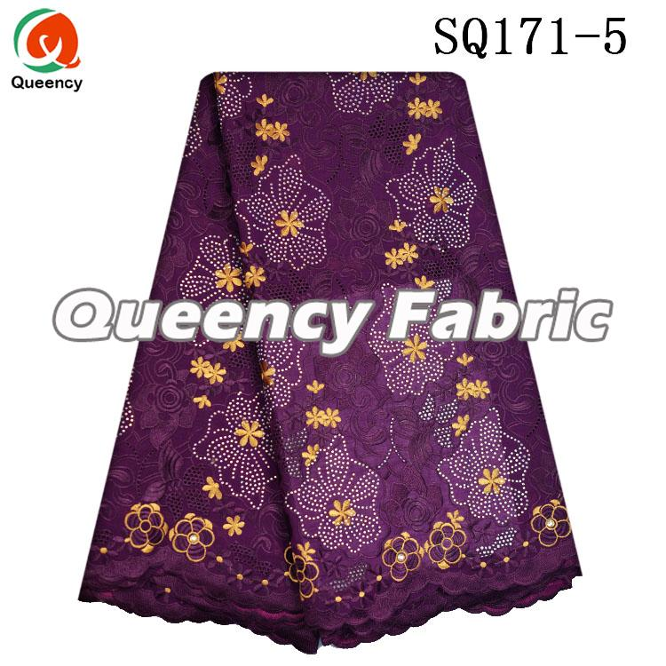 Stones Voile Lace Purple