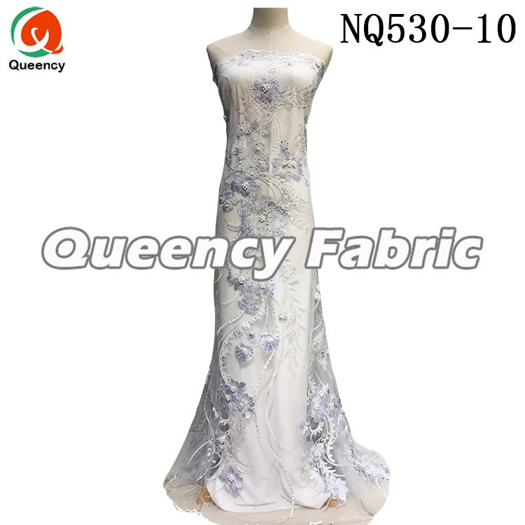 Ladies Tulle Dresses Lace Fabric