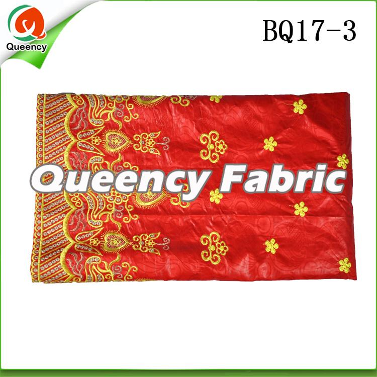 Bazin Embrodiered Cotton Dresses Fabric