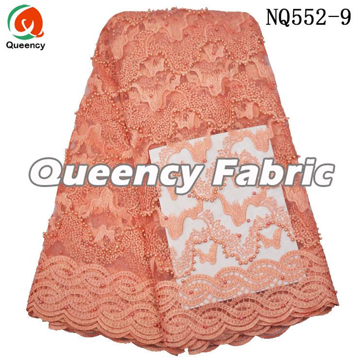Peach Net Fabric