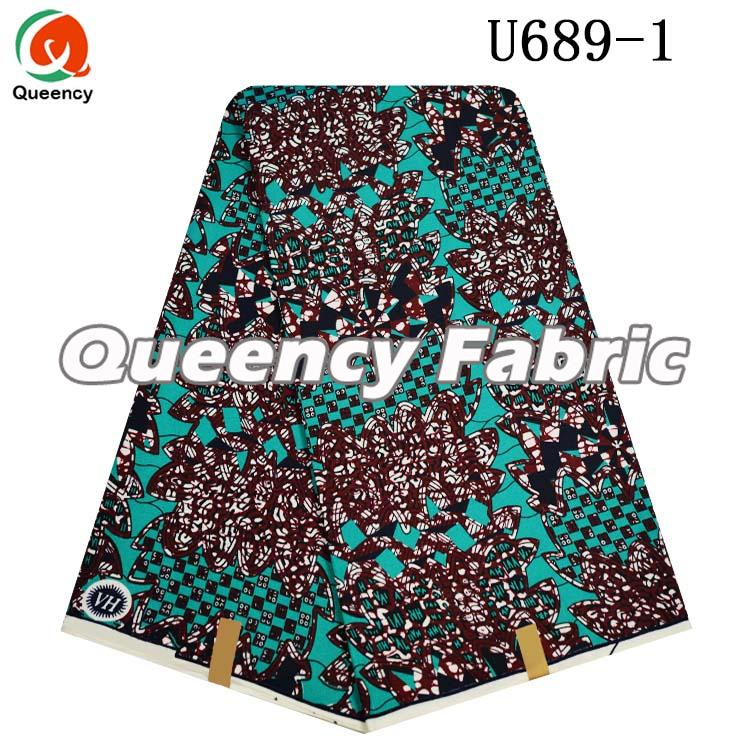 African Polyester Wax Fabric
