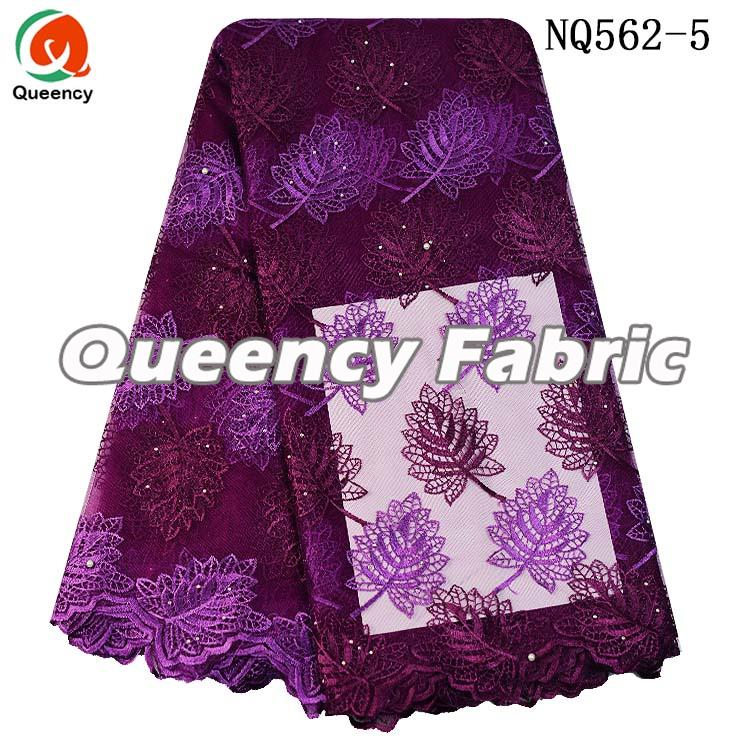 Nigeria Lace Tulle Wedding Dresses Fabric