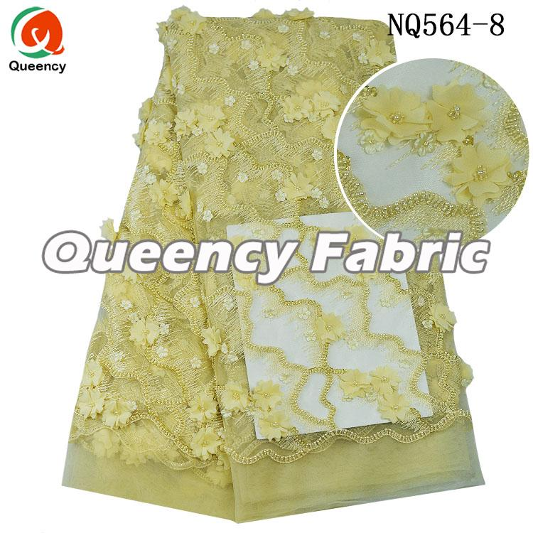African Luxury 3d Lace Fabric