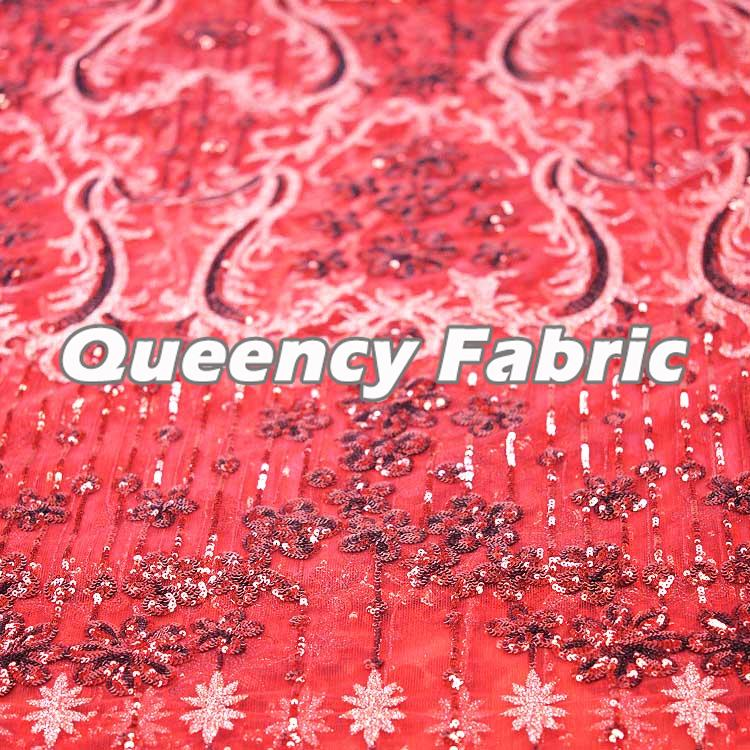 African Sequins French Embroidery