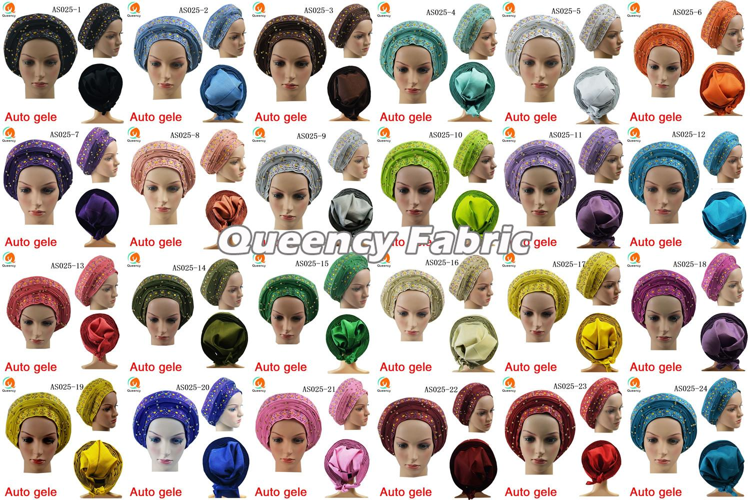 African Auto Gele Collection