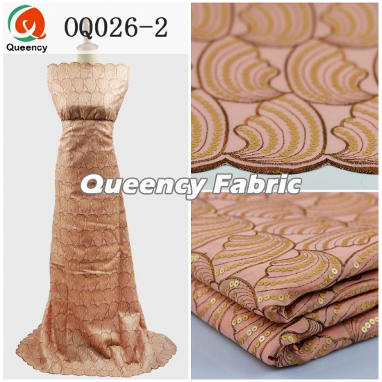 Double Organza Cotton Lace Material