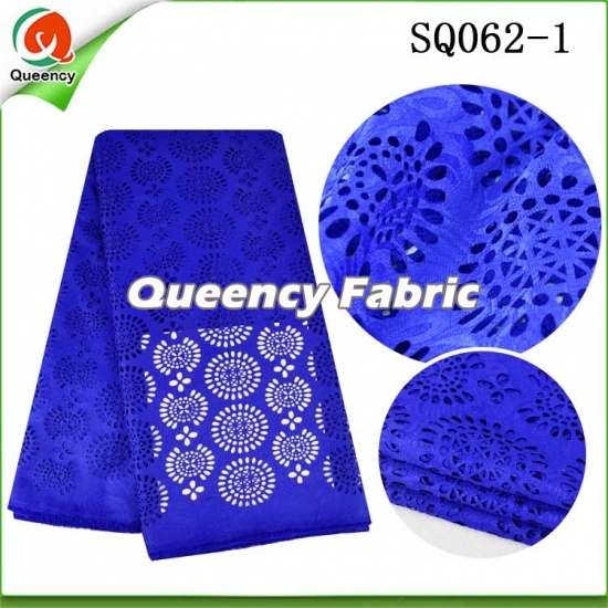 Nigeria Laser Lace Fabric Swiss Voile Style