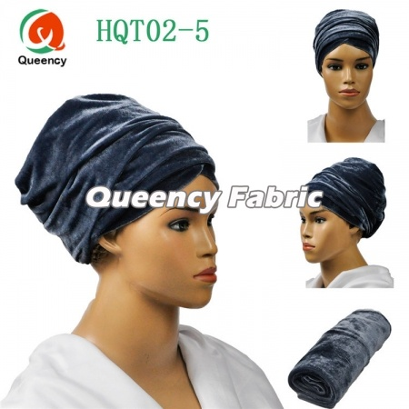 Nigeria Turban Women Headband Plain Fabric