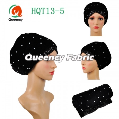 Newest Nigeria Turban Style Ladies Velvet Headband