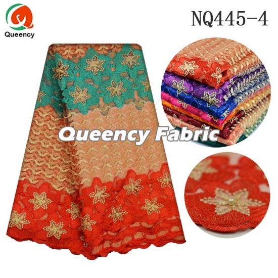 Latest African Lace Style French Embroidery