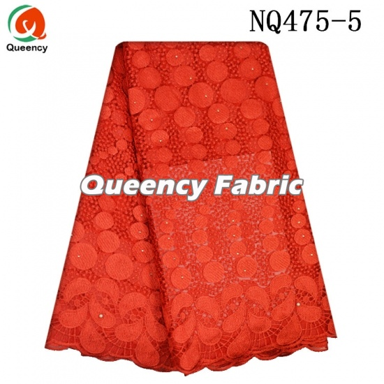 Newest African French Mesh Embroidered Lace