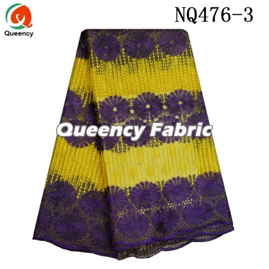 Aso Ebi African French Stones Lace
