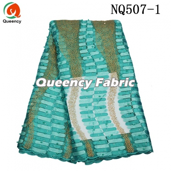 Handwork Embroidery Design With Net Fabric