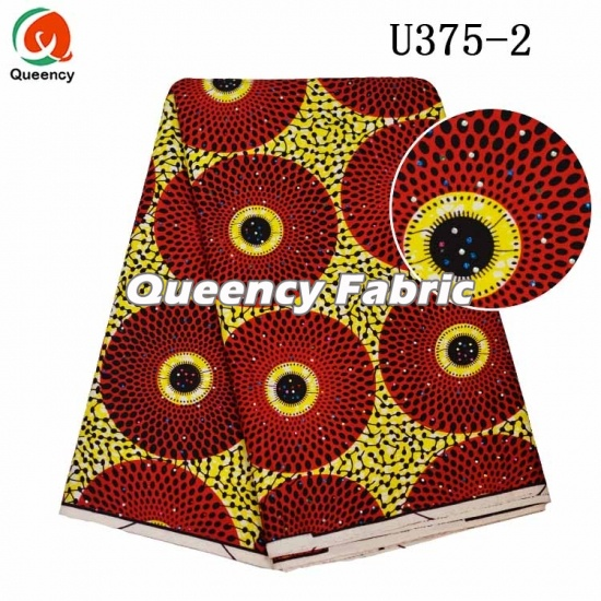 African Ladies Bridal Wax Stones Dresses