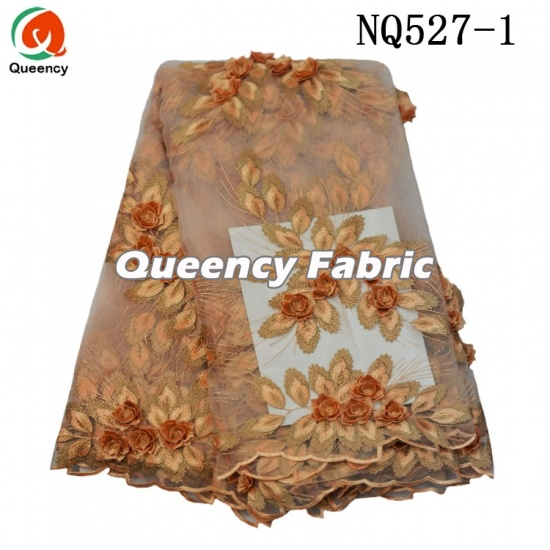 African 3d Tulle Cotton Lace Embroidery