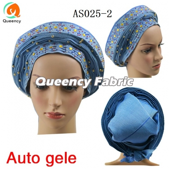 African Already Tied Auto Gele Headtie